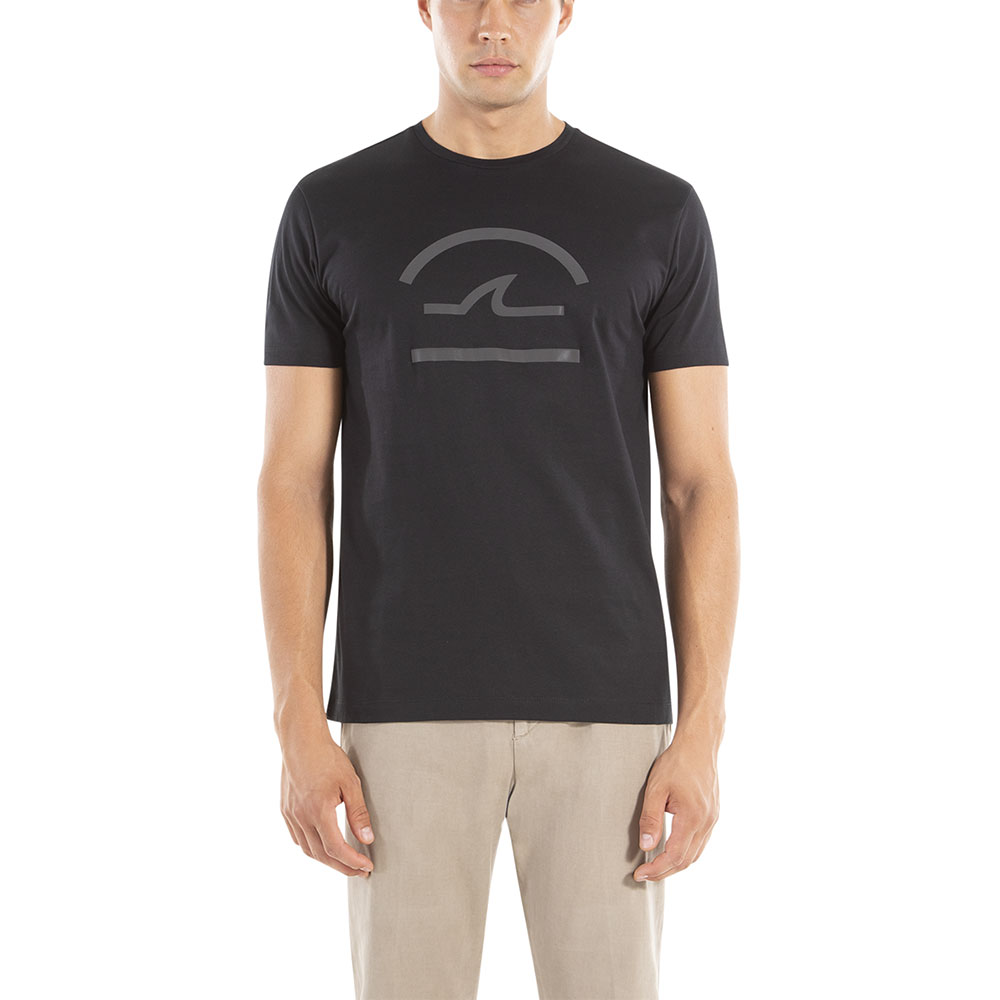 CAMISETA PAUL & SHARK A18P1604 NEGRO