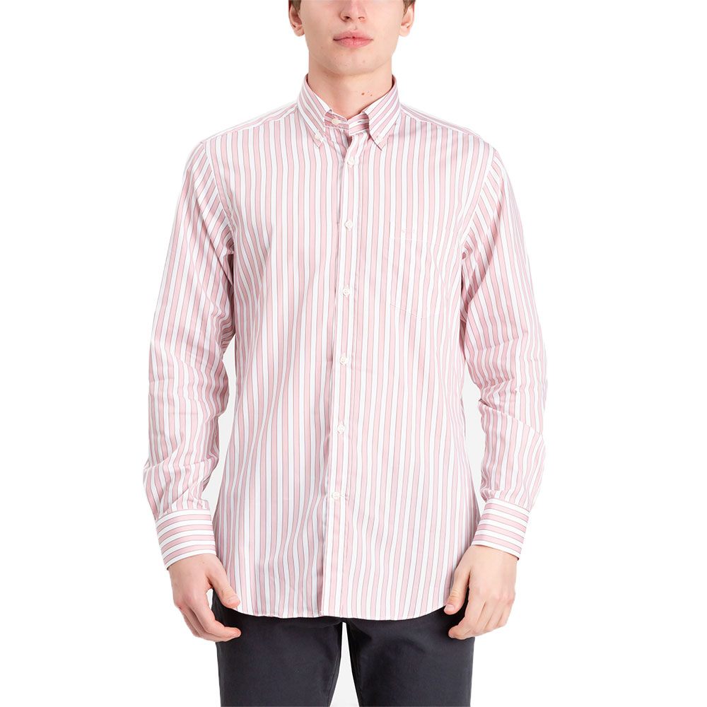CAMISA PAUL & SHARK I18P3181 ROSADO/BLANCO