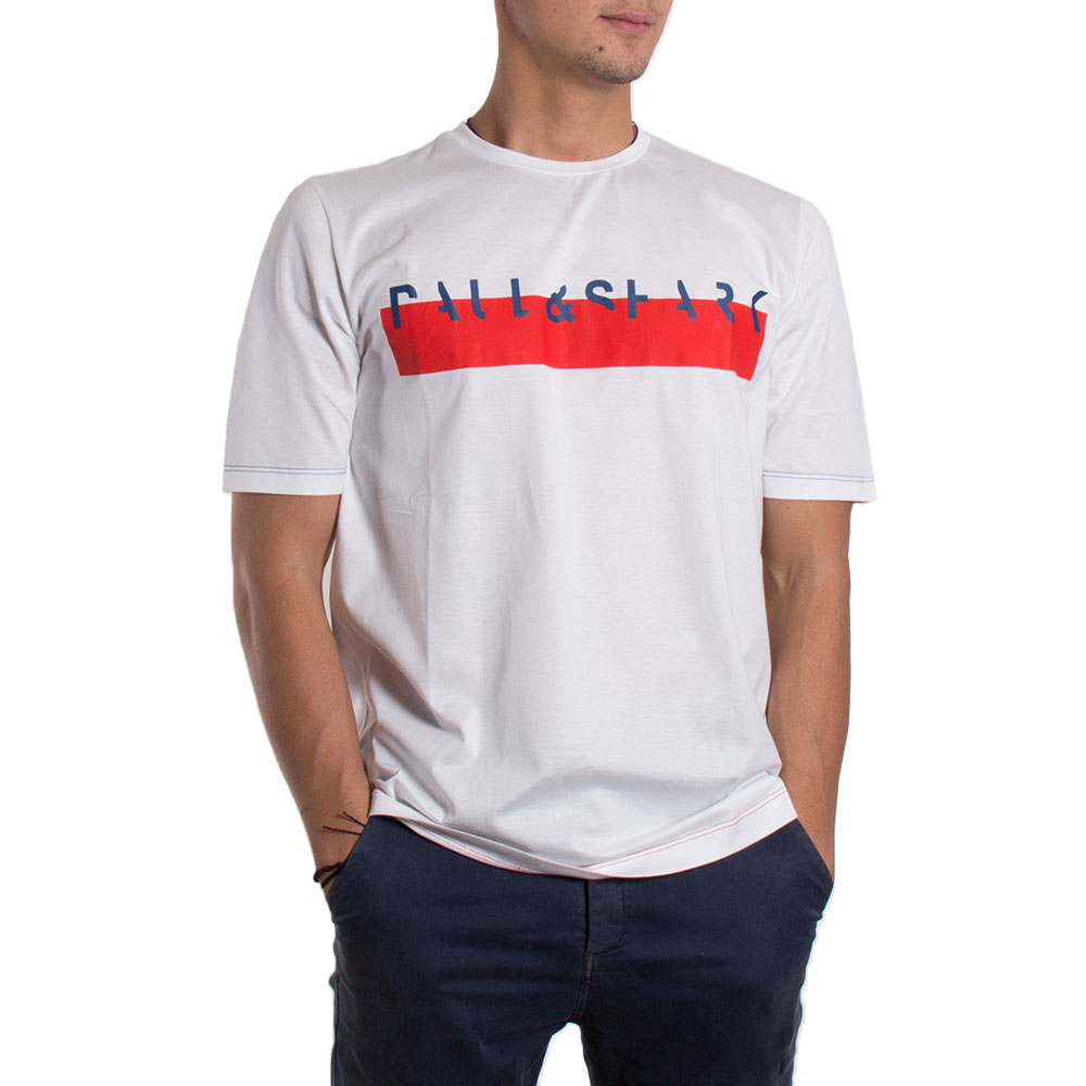 CAMISETA PAUL & SHARK E18P1129 BLANCO